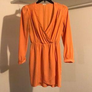 """Orange"" Tobi dress"